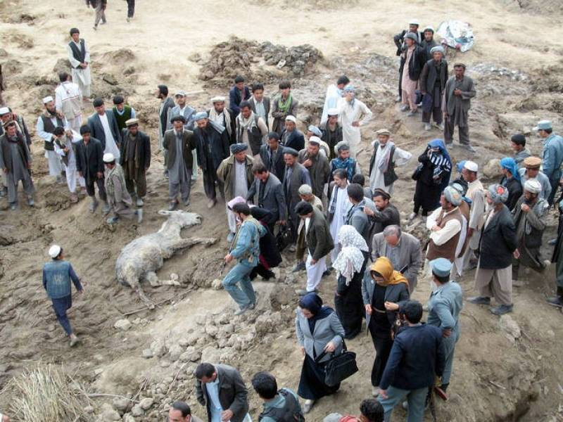 Several hundred people feared dead after landslide in Afghanistan