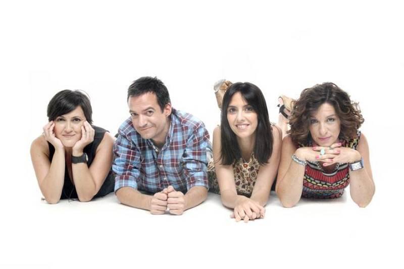 De izquierda a derecha, Ana Ferrandis, Daniel Galindo, Fátima González y Paloma Zuriaga.