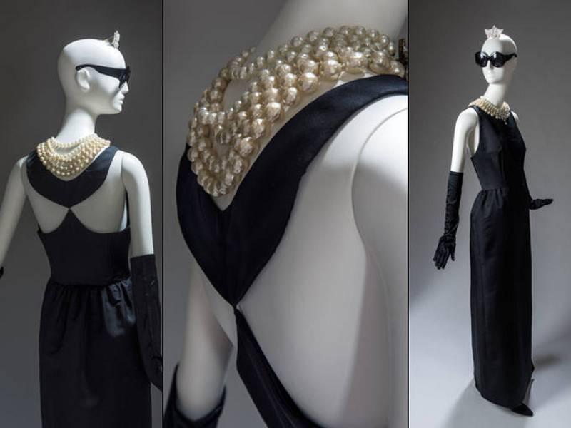 Vestido para Audrey Hepburn en Desayuno con Diamantes