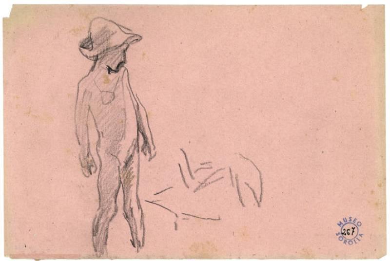 "Sorolla, ""Niño en la playa"", (1904)"