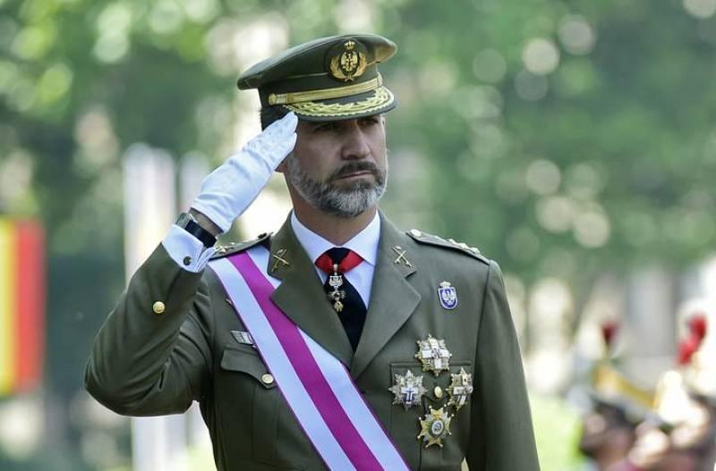 Felipe VI y Letizia se estrenan en el Día de las Fuerzas Armadas | 6