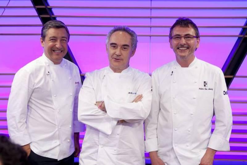 Roca, Adrià y Aduriz coronarán al tercer MasterChef España.