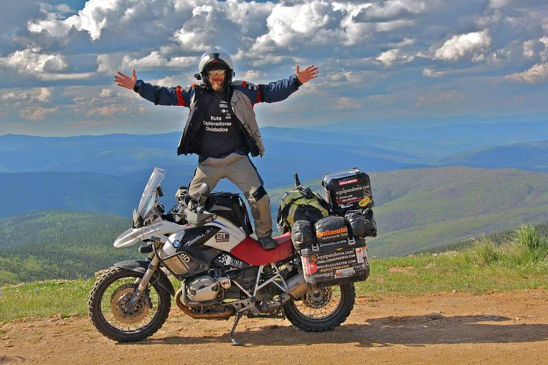 Miquel on top of the world