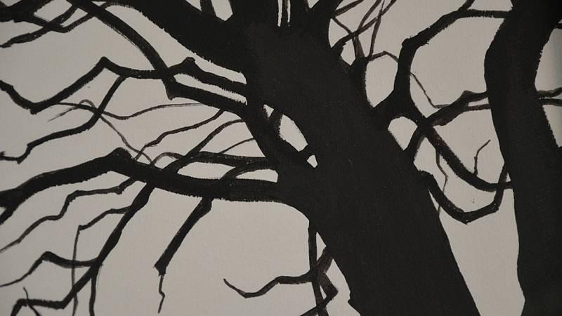 Imagen de la obra 'Troncos solitarios' (2007)