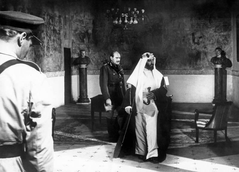 Imagen de la película 'Lawrence de Arabia' (1962).