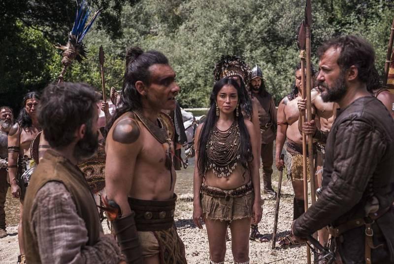 Los aztecas ofrecen su oro a cambio de que Hernán se marche