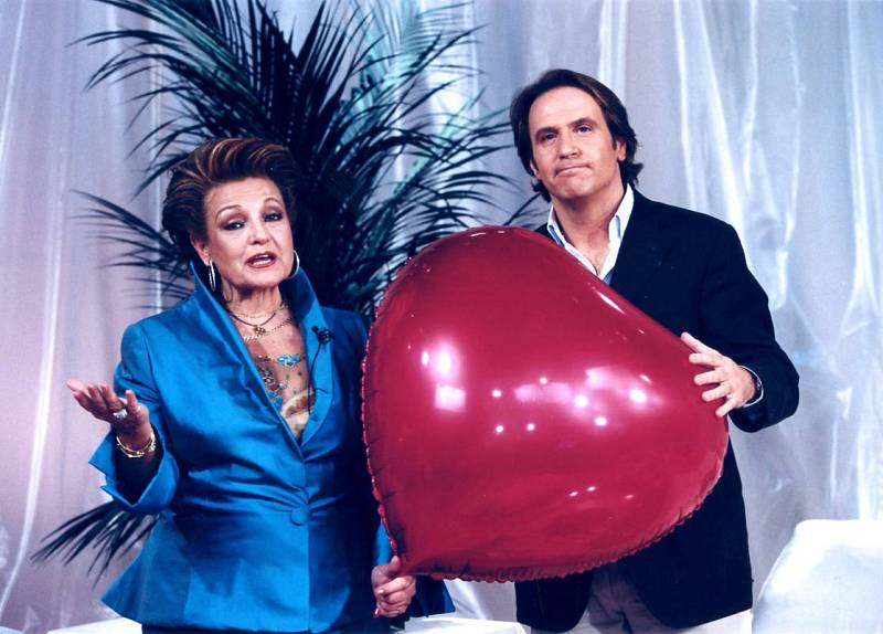 Carmen Sevilla junto a Juan Carlos Cerezo.