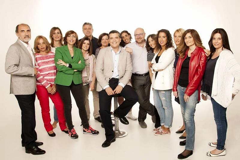 El equipo de 'Las mañanas de RNE', dirigido y presentado por Alfredo Menéndez