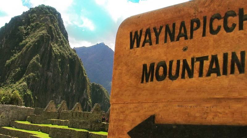 Indicador del Machu Picchu