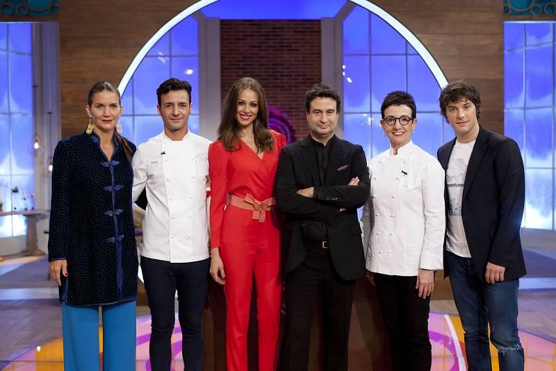 Los chefs Carme Ruscalleda y su hijo Raül Balham