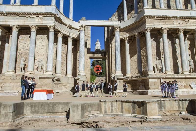 El Teatro Romano de Mérida es el escenario de la repesca
