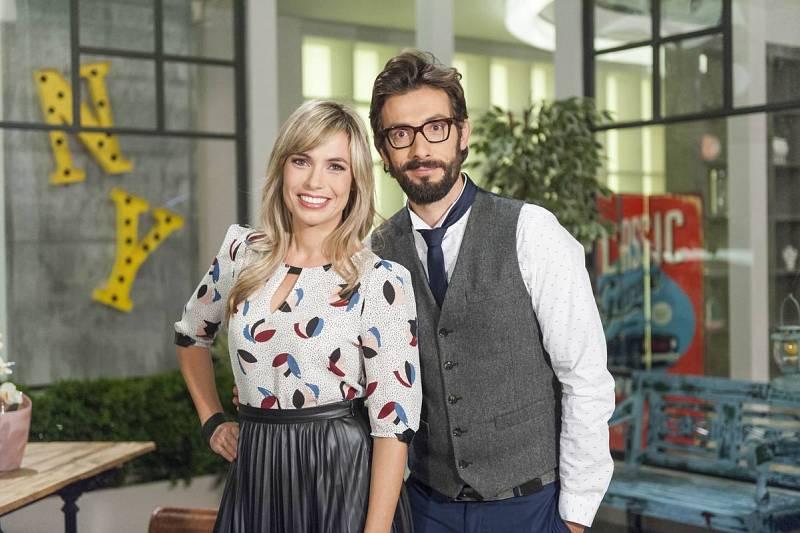 Elisabet Carnicé y Jordi Amat, los presentadores