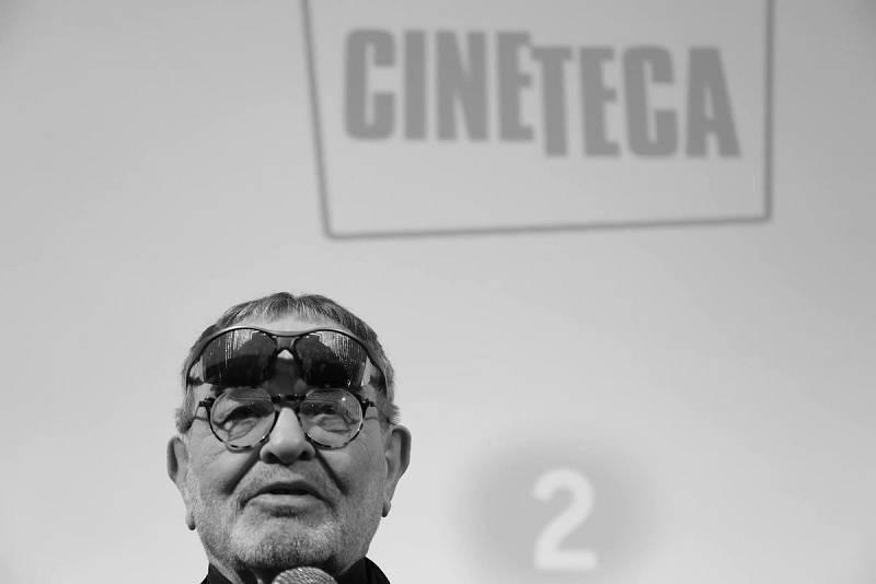 Fernando Arrabal, en la presentación del documental sobre su vida y obra en Cineteca Madrid