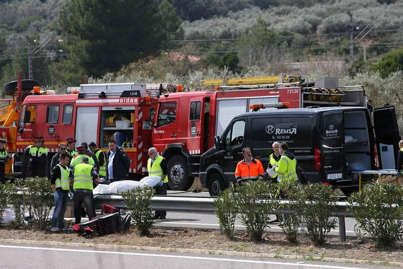 Accidente de autobús en Tarragona