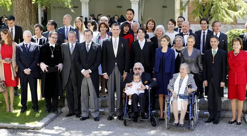 Ceremonia de entrega del Premio Cervantes a Fernando del Paso