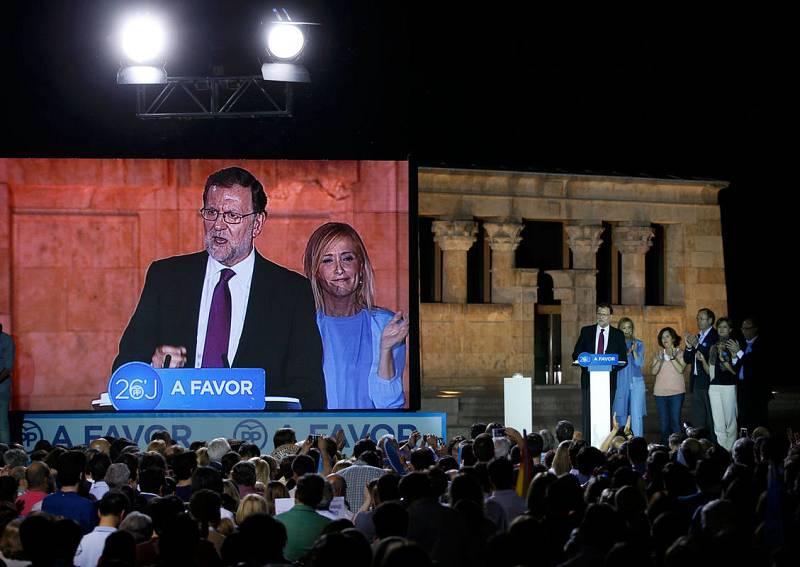 """Rajoy asegura en el acto de arranque de campaña que el """"voto seguro"""" es el del PP"""
