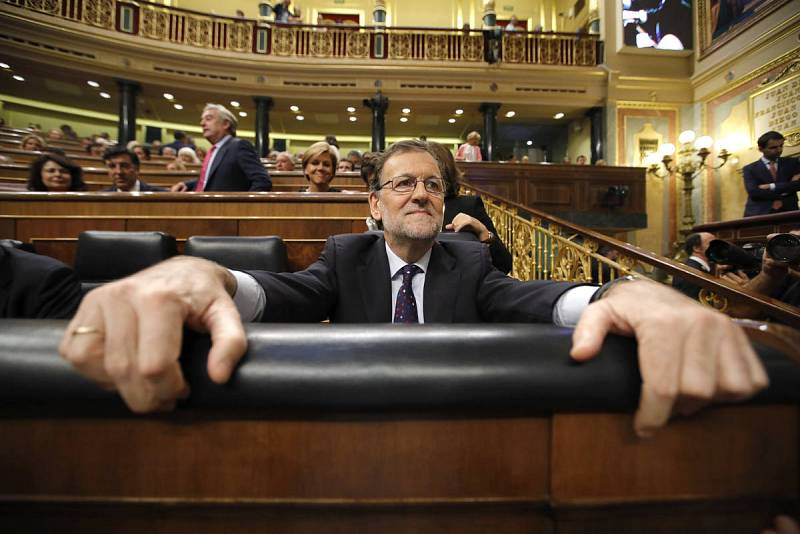 Tercera sesión del debate de investidura de Rajoy