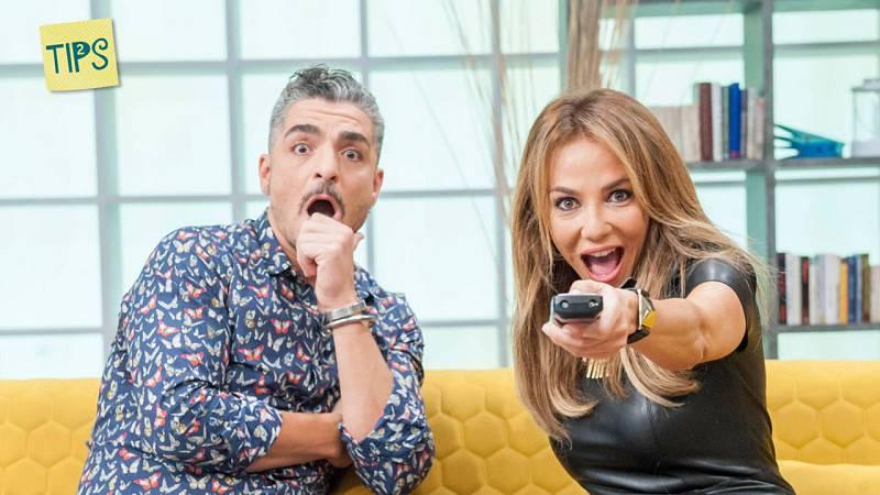 "Ruth Jiménez y Txabi Franquesa, presentadores de ""Tips"""