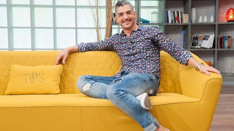 Txabi Franquesa, presentador de Tips