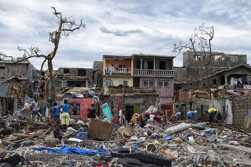 Desolación en la ciudad de Jeremie, Haití