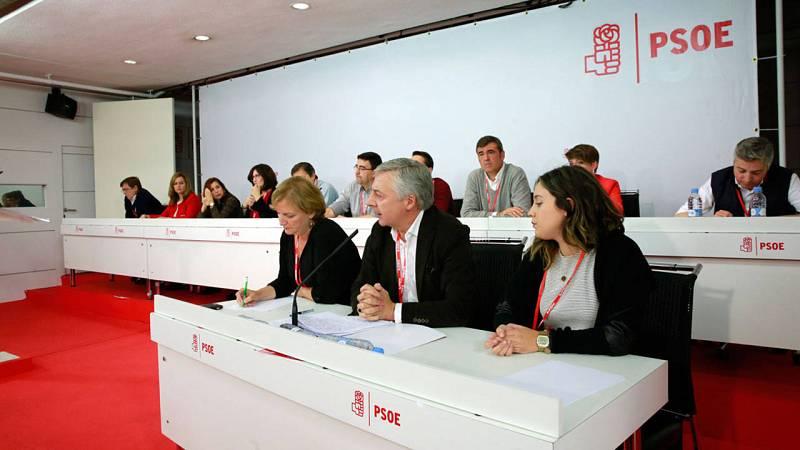 José Blanco preside la mesa del Comité Federal del PSOE