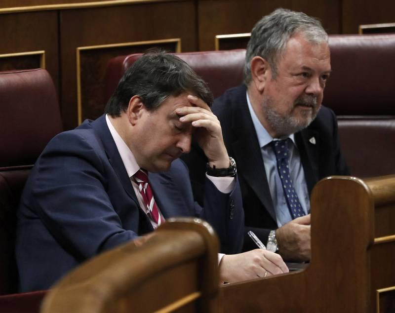 Pedro Azpiazu y Aitor Esteban
