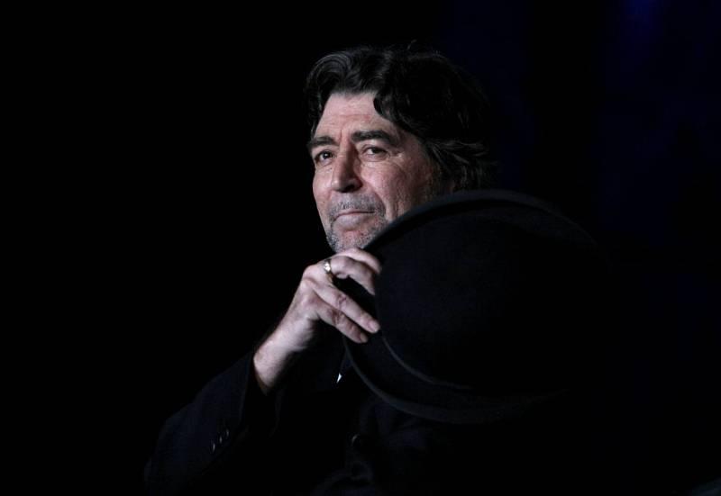 Joaquín Sabina, en un concierto en Buenos Aires