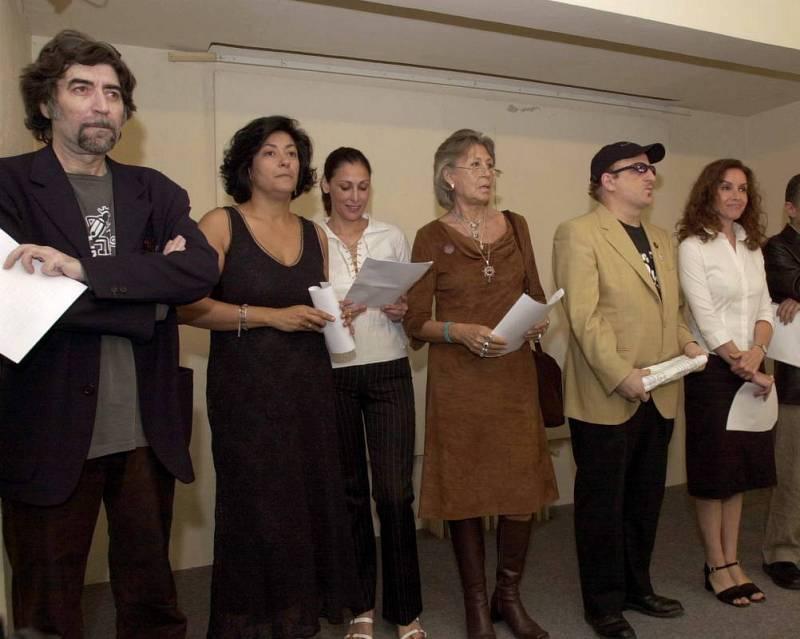 Sabina y otros artistas piden el voto para la izquierda