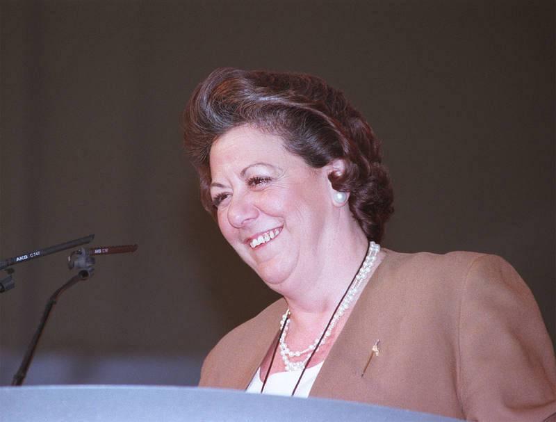 Rita Barberá en una imagen de enero de 1999