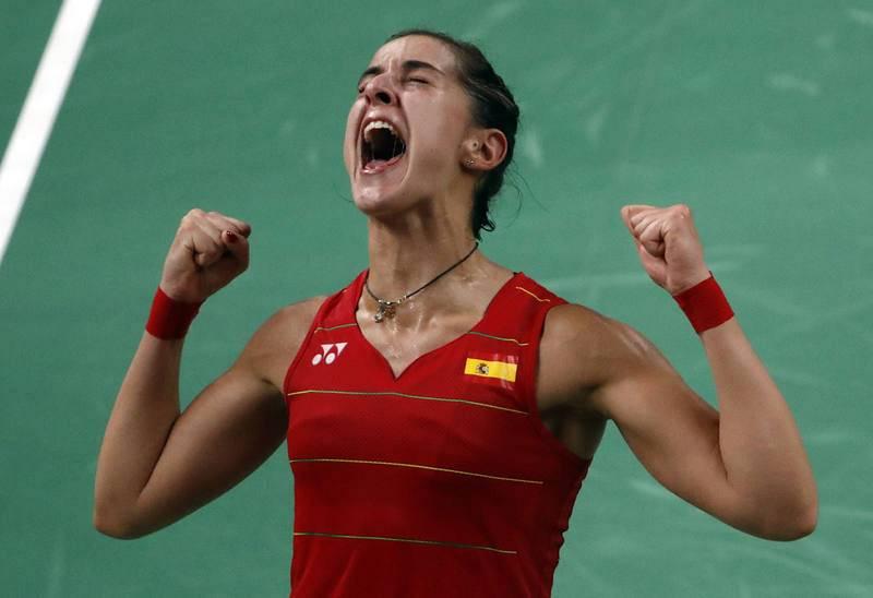 Lo mejor de los Juegos de Río: Carolina Marín