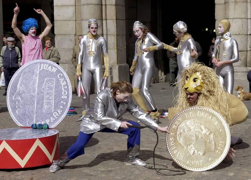 Adiós a la peseta después de 133 años