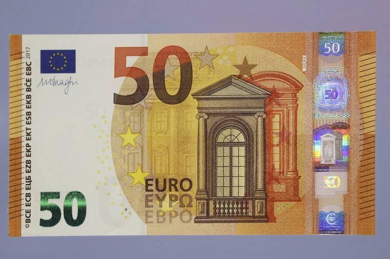 El nuevo billete de 50 euros entra en circulación