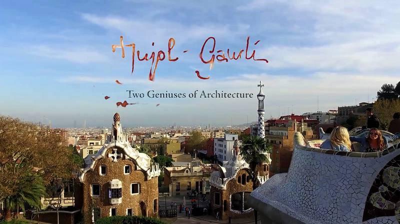 Barcelona, desde el Park Güell, donde Jujol trabajó con Gaudí