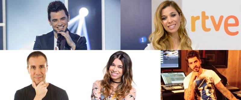 El jurado profesional de RTVE para Eurovisión 2017
