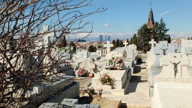 Vista desde la parte más alta de la Necrópolis