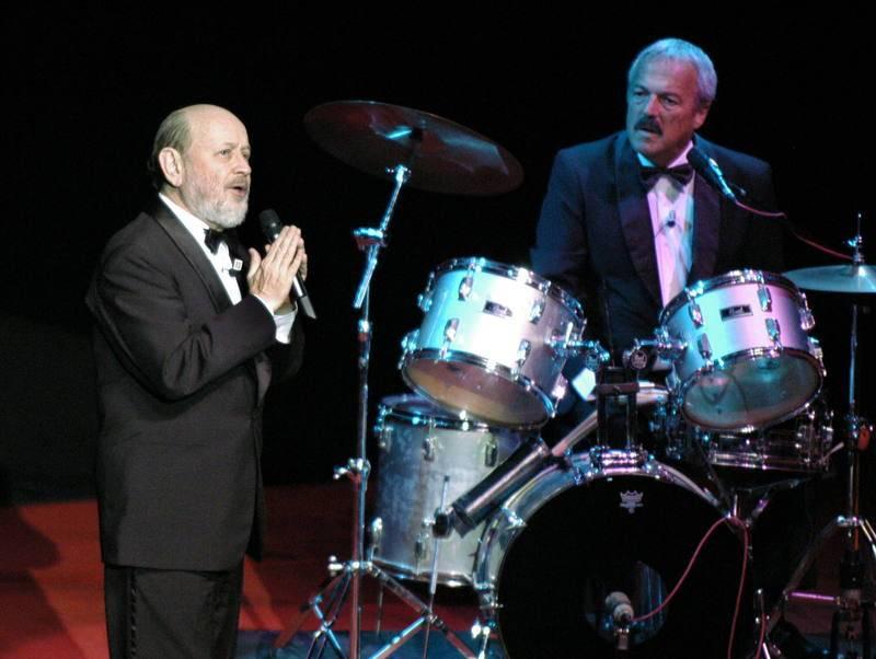 Marcos Mundstock y Daniel Rabinovich, en el Auditorio de Zaragoza (2006).