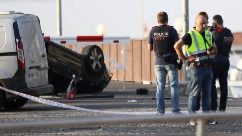 La policía investiga el atentado en Cambrils