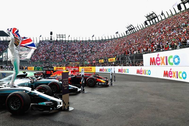 Hamilton ha agradecido el apoyo del público mexicano.