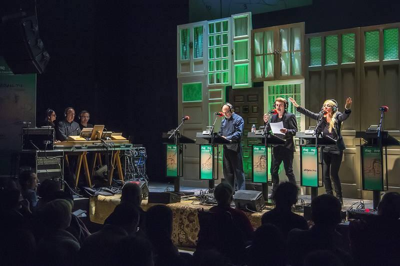 El equipo de 'Ficción sonora' de RNE ha puesto en escena 'Lorquiana'.