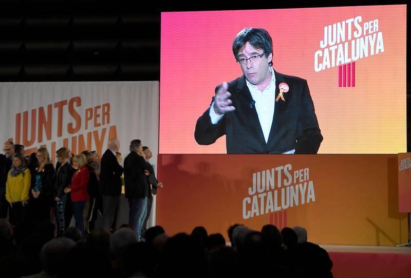 Puigdemont abre la campaña por videoconferencia