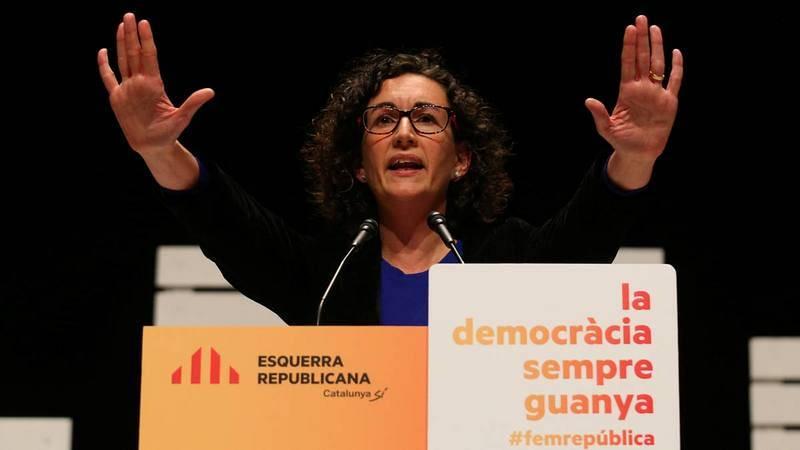 Marta Rovira, candidata virtual de ERC en las elecciones del 21-D.