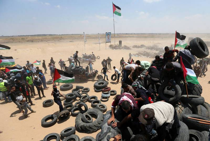 Palestina vive una jornada de huelga general y de luto en el 70 aniversario de la Nakba