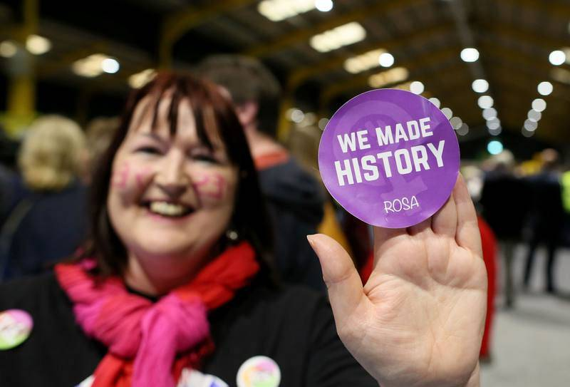 El 'sí' a la reforma para liberalizar el aborto en Irlanda ha ganado con más del 60% de los votos