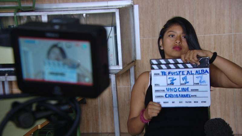 Visibilizarles, uno de los objetivos de la Escuela de cine de la Casa Escuela Santiago Uno