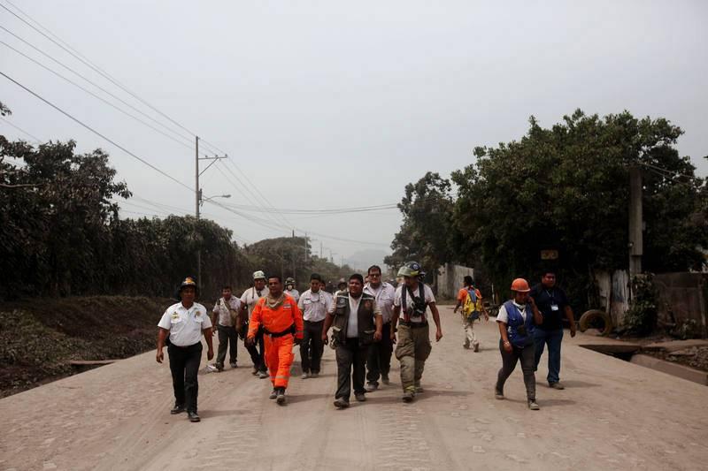 La erupción más violenta del volcán 'Fuego' en Guatemala