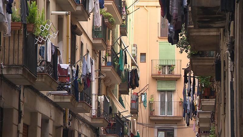 El barrio del Raval en Barcelona
