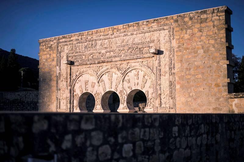 La ciudad califal de Medina Azahara está ubicada en las estribaciones de la sierra de Córdoba