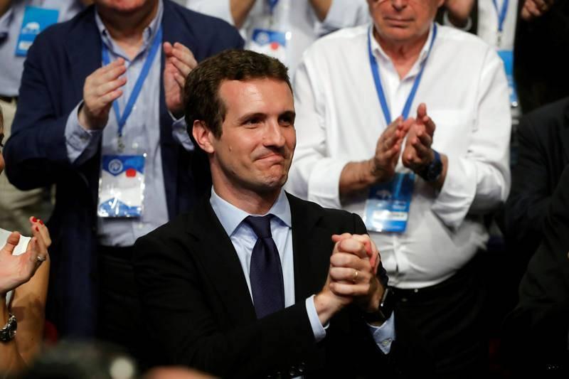 Pablo Casado ha sido elegido nuevo presidente del PP en sustitución de Mariano Rajoy al imponerse a Soraya Sáenz de Santamaría