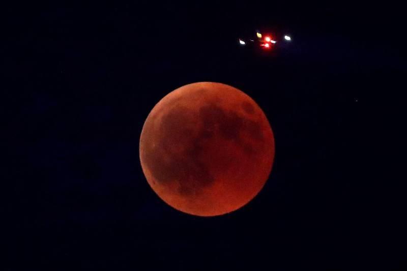 Eclipse de Luna en Madrid