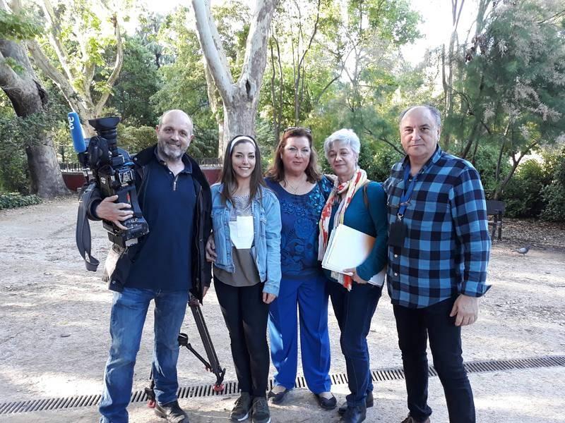 Rodaje reportaje 'El Patronato'